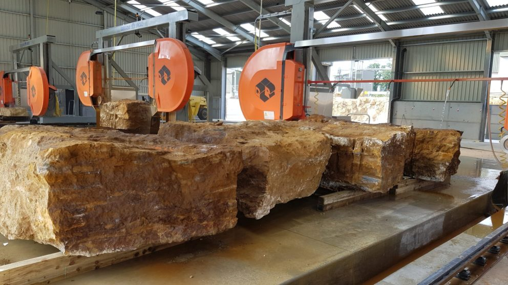 Block Great Tew Quarry