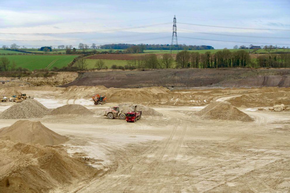 JQ Group Aerial Quarry