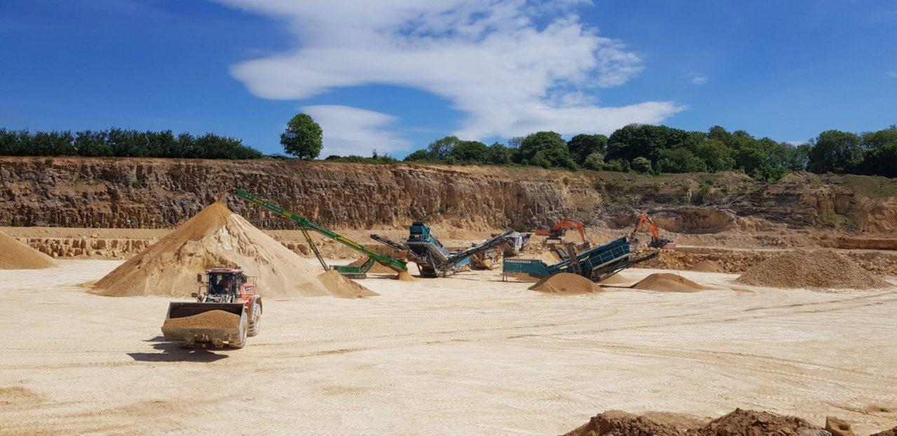 JQ Group landscape quarry machinery