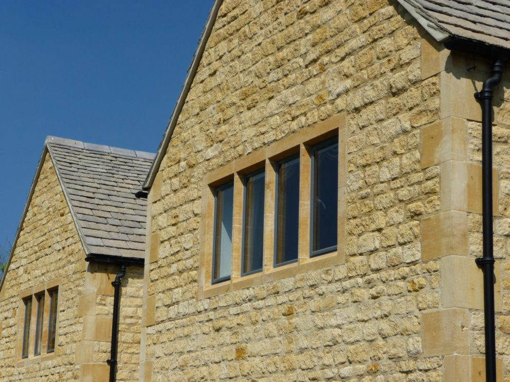 Rough Dressed Chipping Campden house front