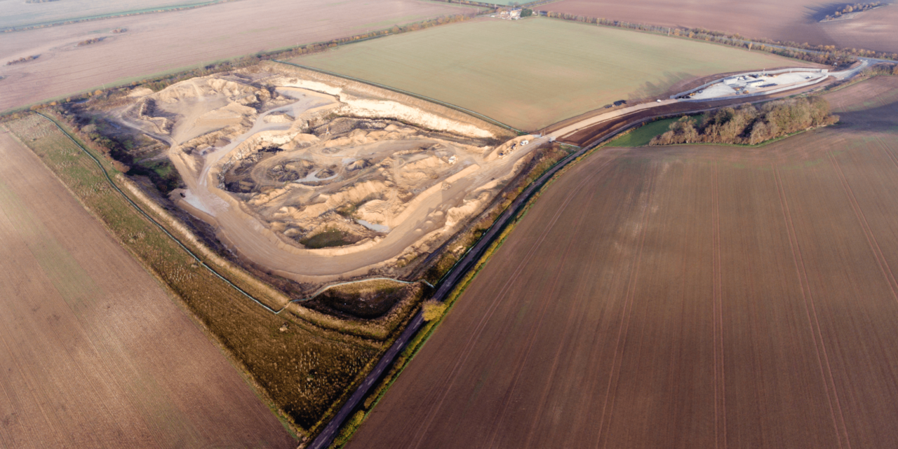 Ropsley Quarry Aerial JQ Group